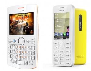 Nokia Asha 205 and Nokia 206