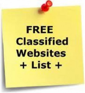 free classified website lists